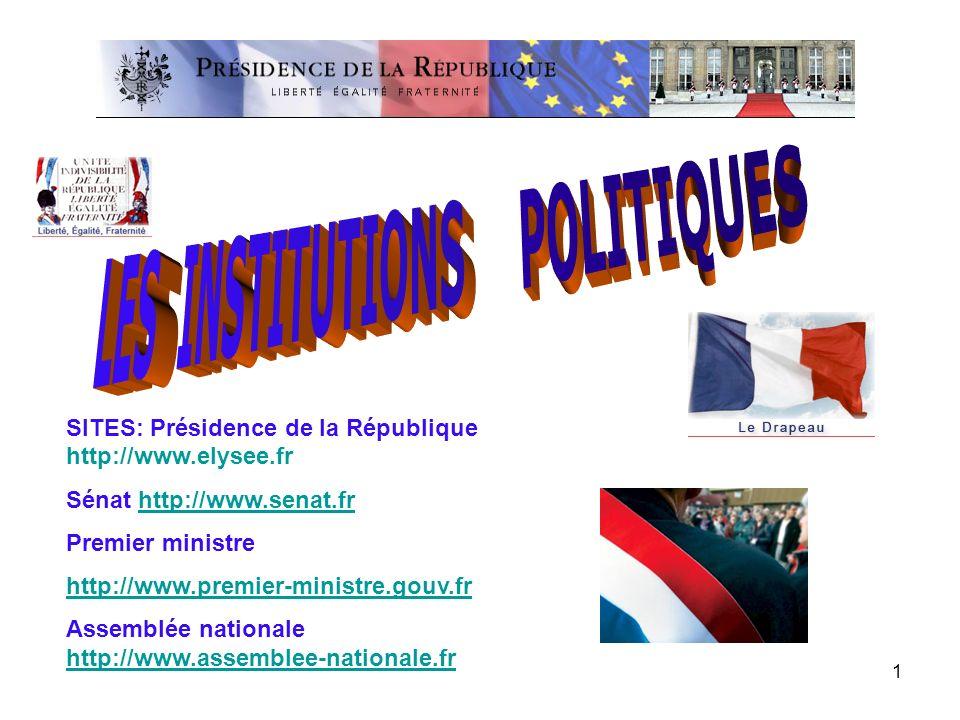 LES INSTITUTIONS POLITIQUES