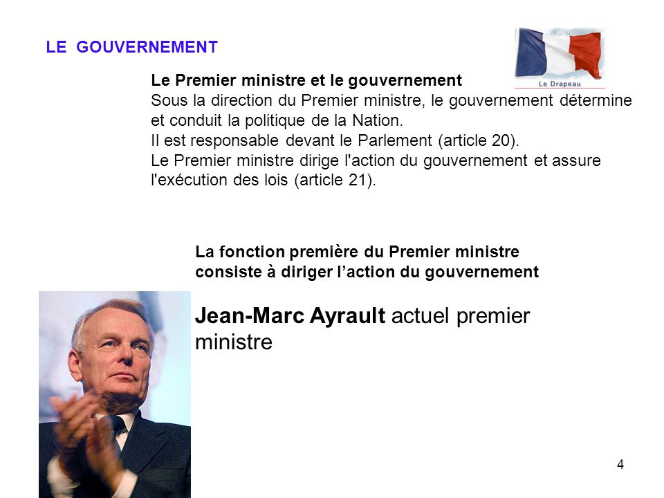 Jean-Marc Ayrault actuel premier ministre