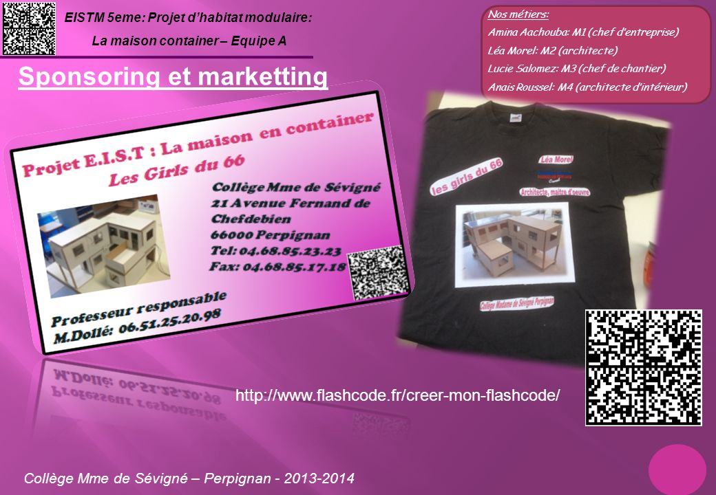 Sponsoring et marketting