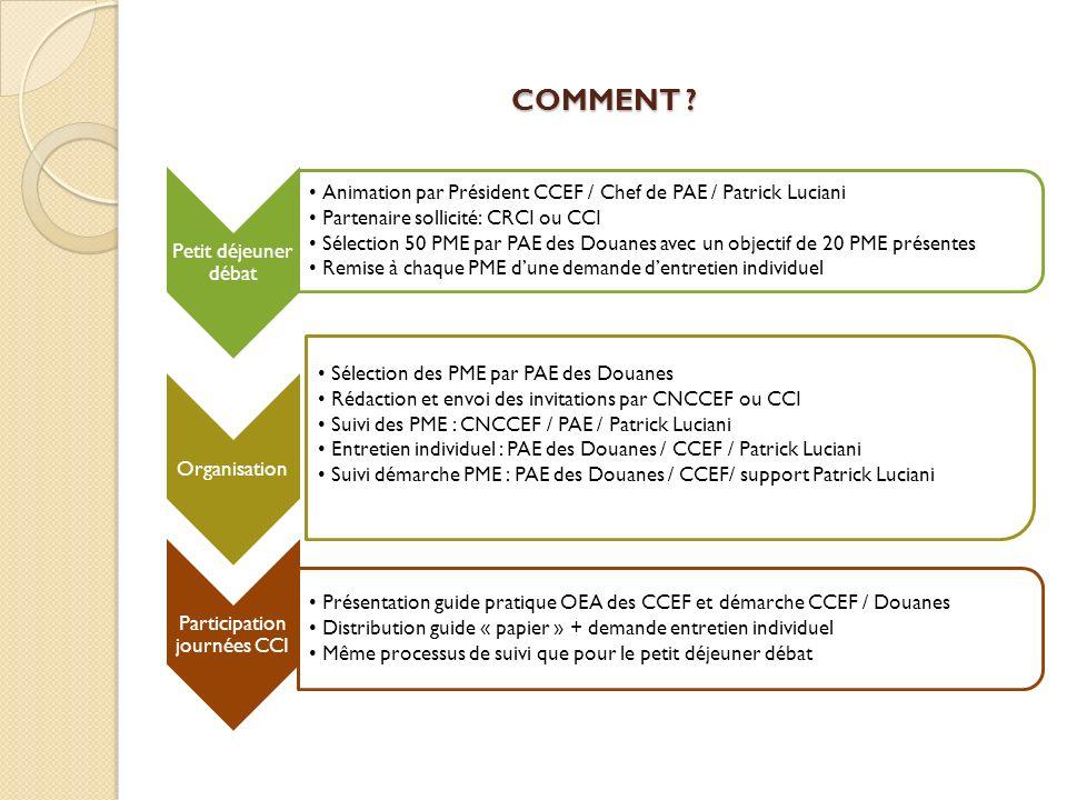 Participation journées CCI