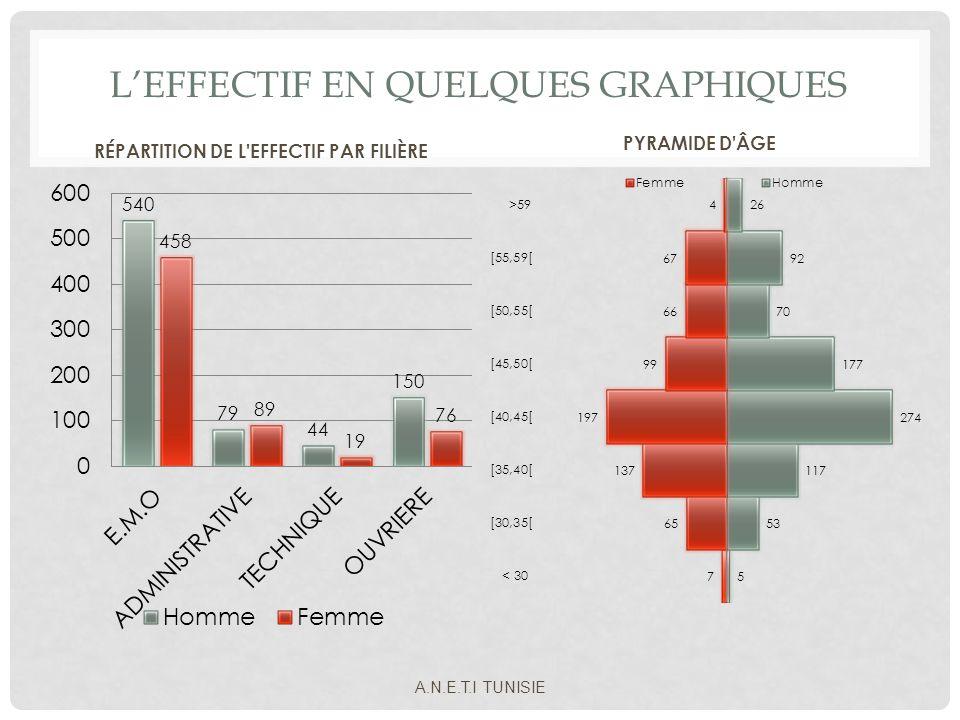 L'Effectif en quelques graphiques