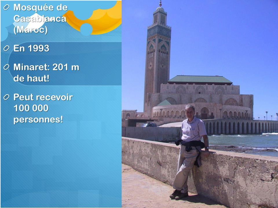 Mosquée de Casablanca (Maroc)