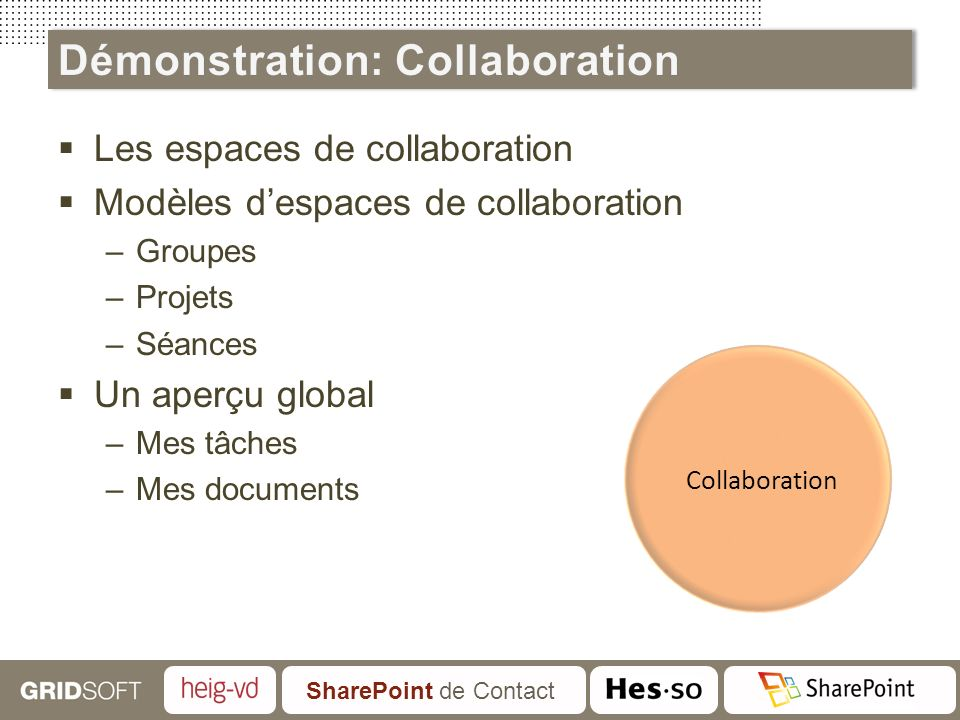 Démonstration: Collaboration