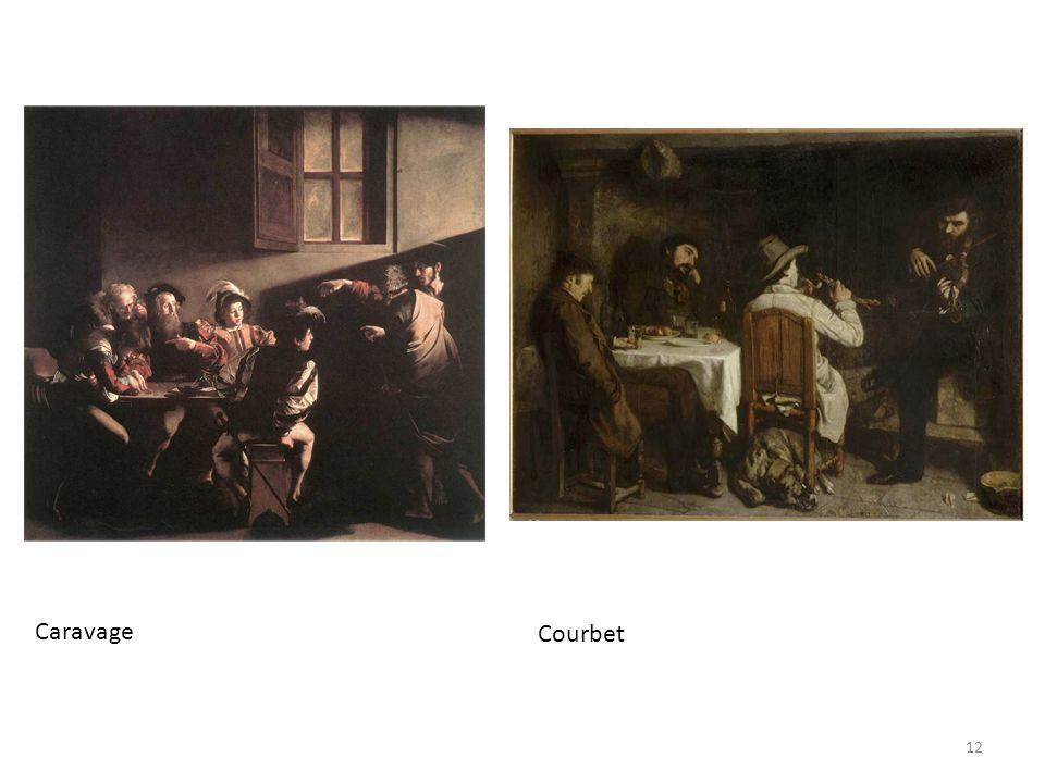 Caravage Courbet
