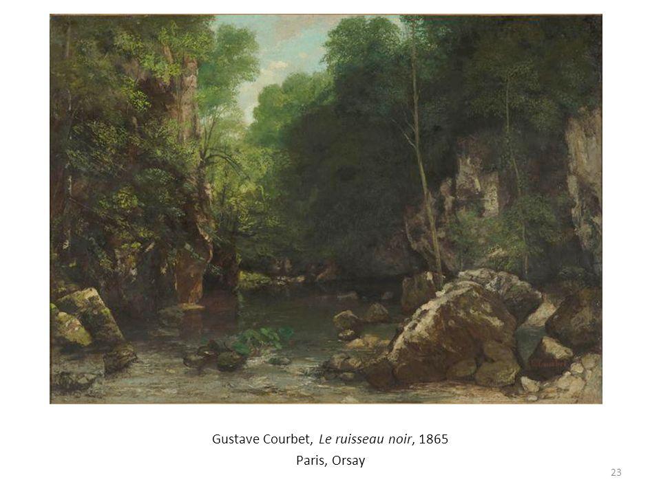 Gustave Courbet, Le ruisseau noir, 1865