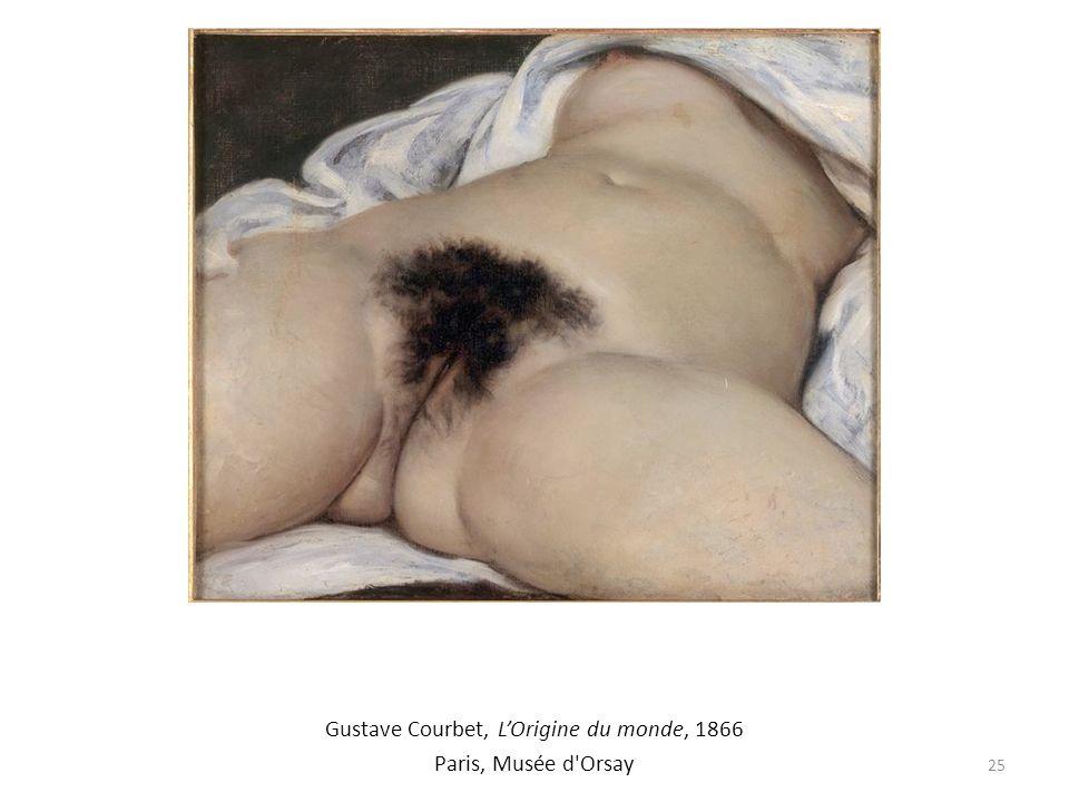 Gustave Courbet, L'Origine du monde, 1866