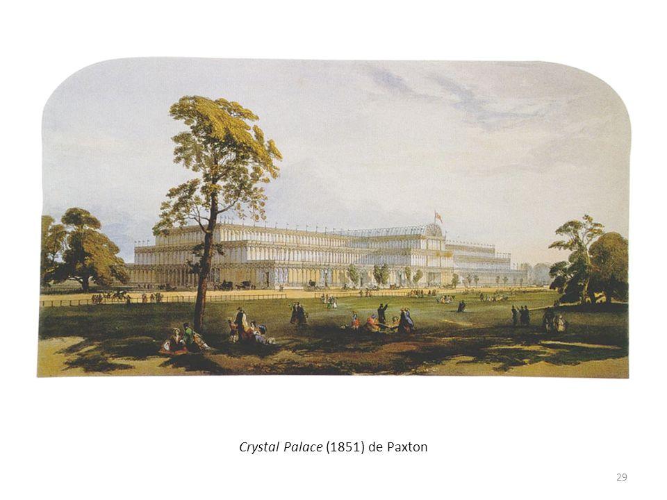 Crystal Palace (1851) de Paxton