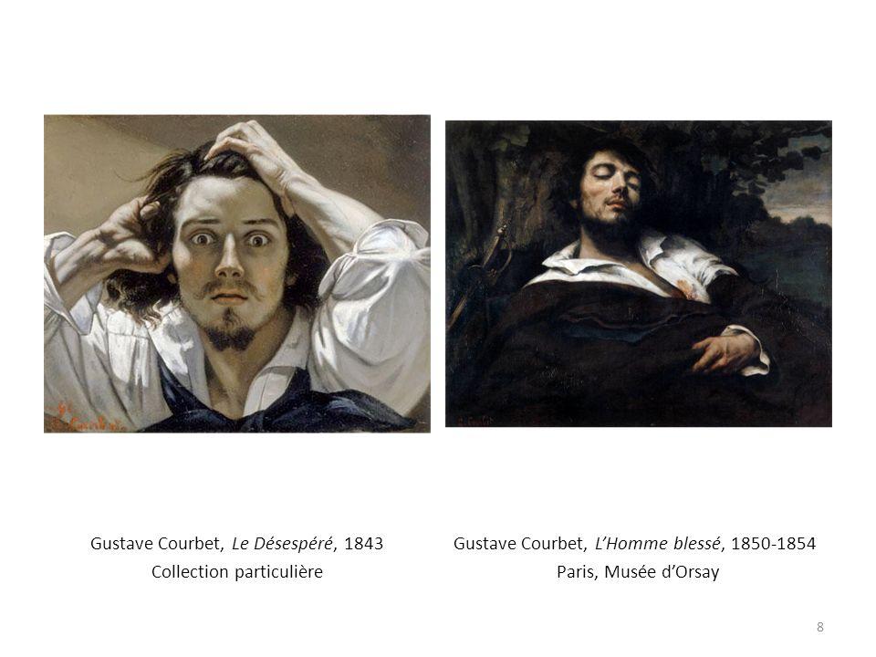 Gustave Courbet, Le Désespéré, 1843 Collection particulière