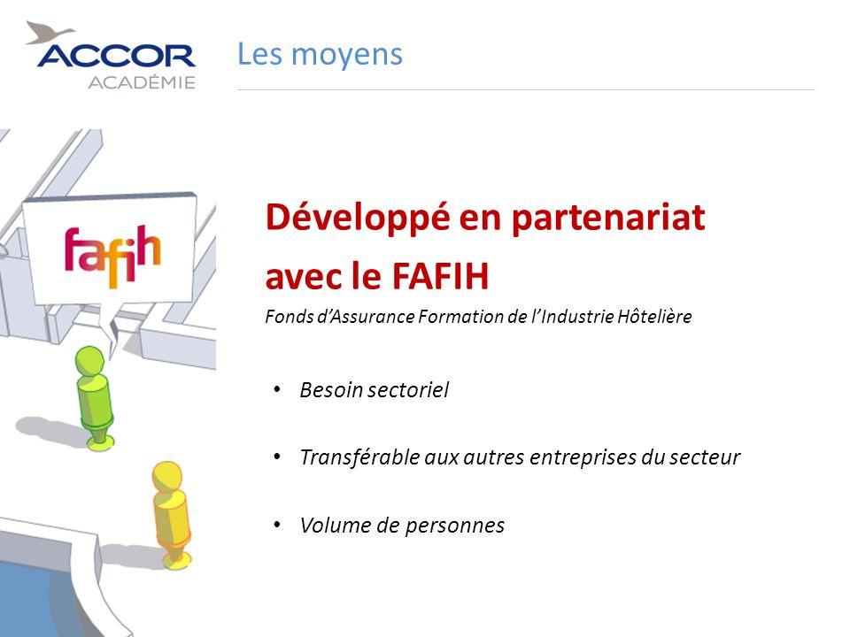 Développé en partenariat avec le FAFIH