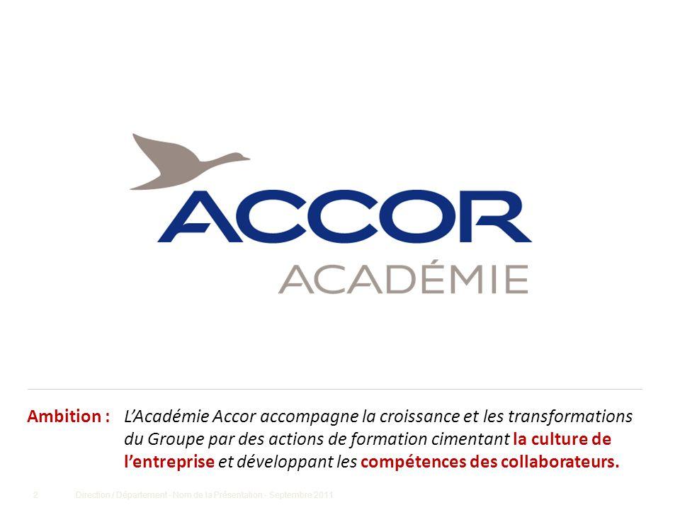 ACCOR sur logo Accor est le premier opérateur et premier employeur hôtelier au monde.