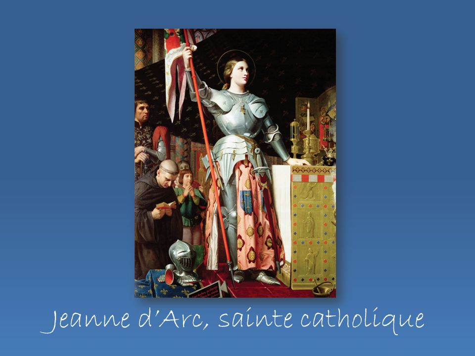 Jeanne d'Arc, sainte catholique
