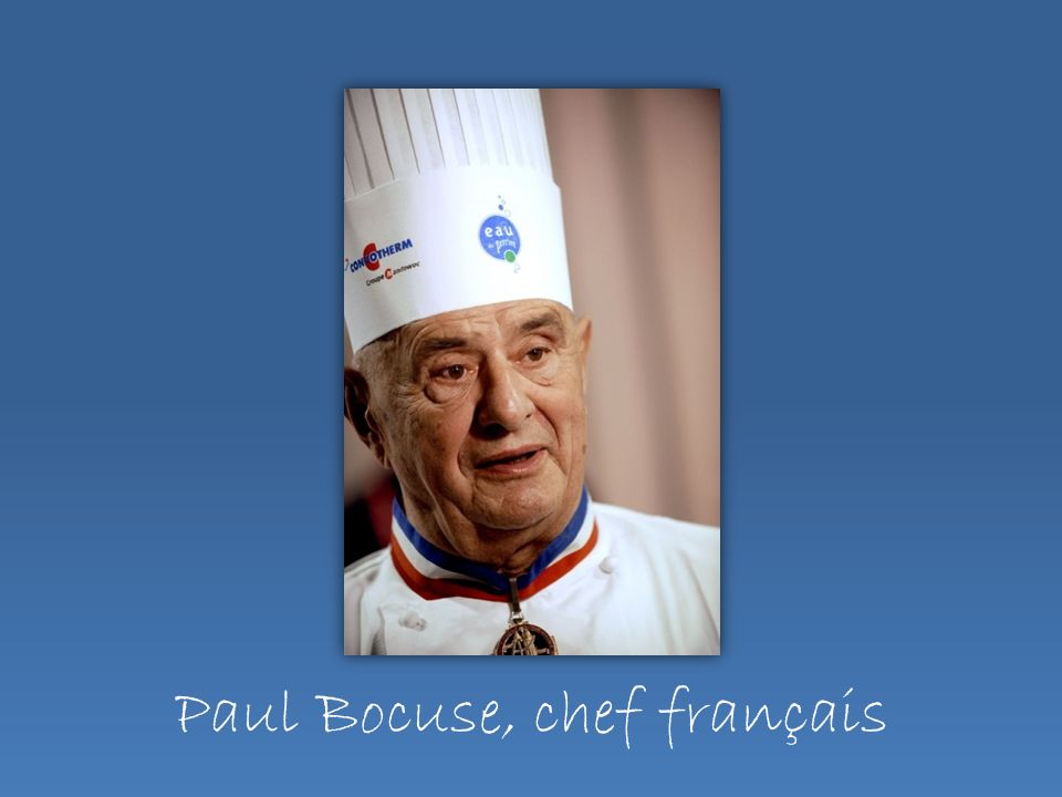 Paul Bocuse, chef français