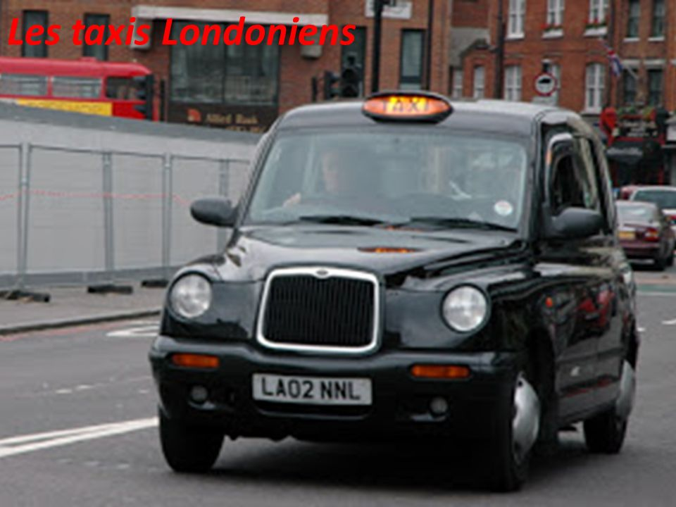Les taxis Londoniens