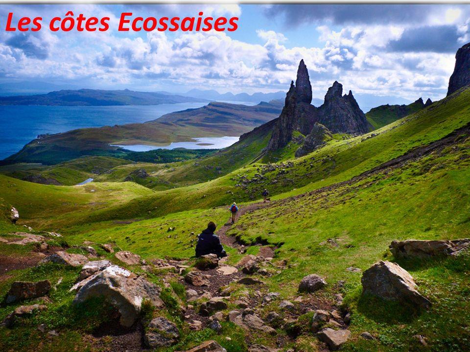 Les côtes Ecossaises