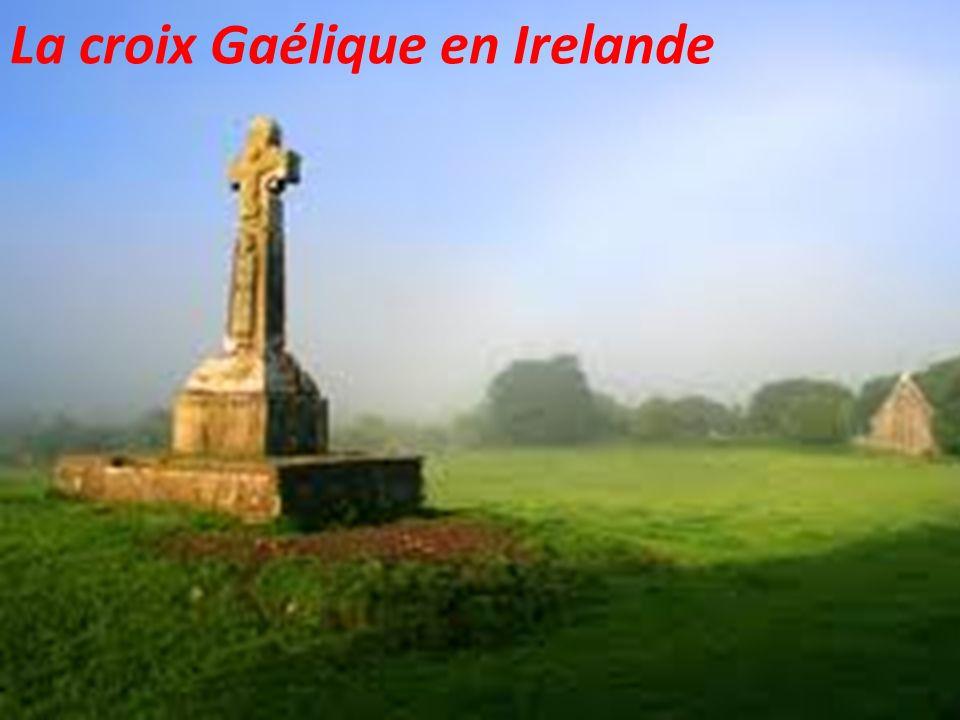 La croix Gaélique en Irelande