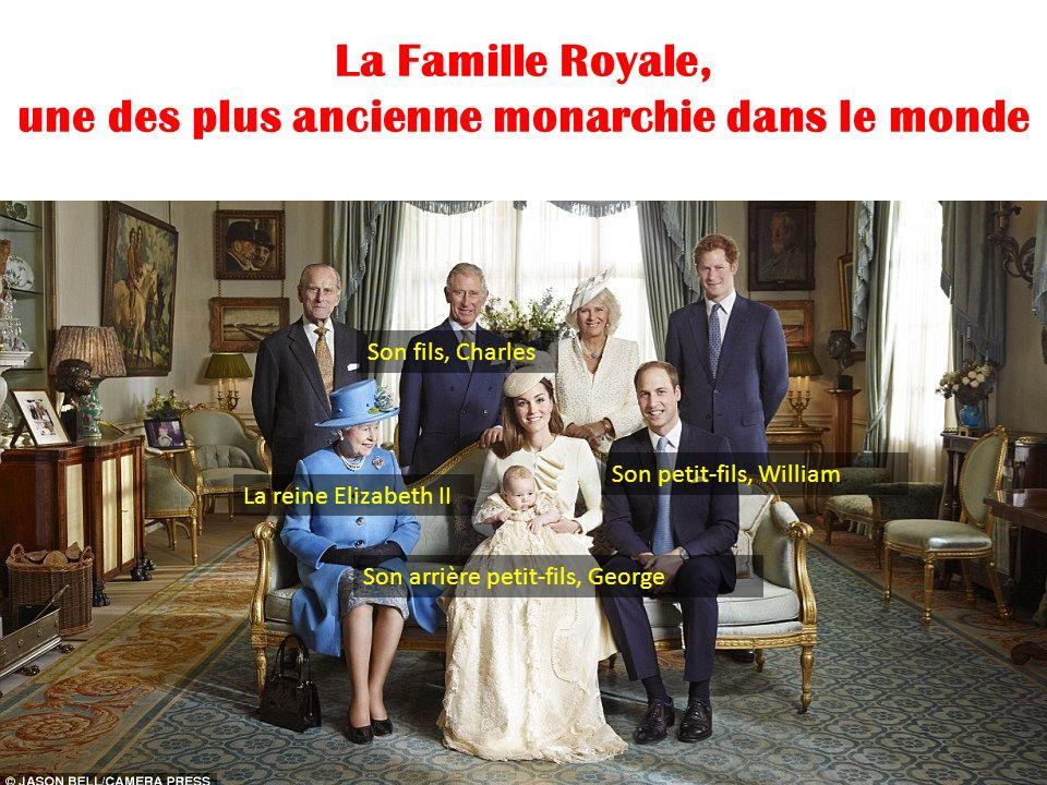 La Famille Royale, une des plus ancienne monarchie dans le monde