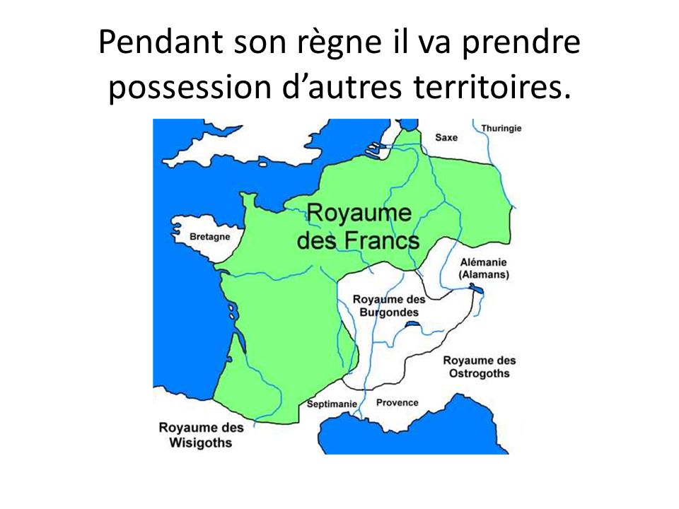 Pendant son règne il va prendre possession d'autres territoires.