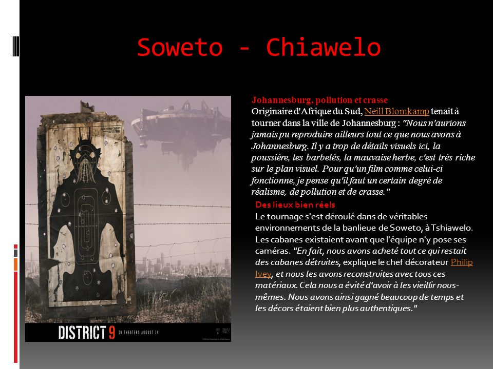 Soweto - Chiawelo Johannesburg, pollution et crasse