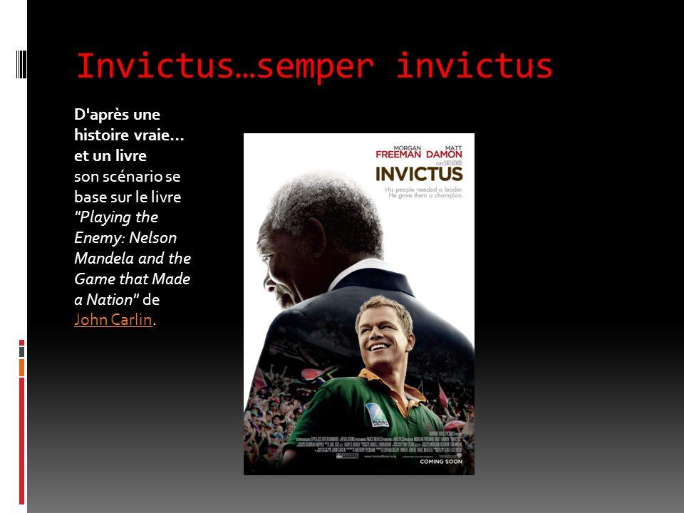 Invictus…semper invictus