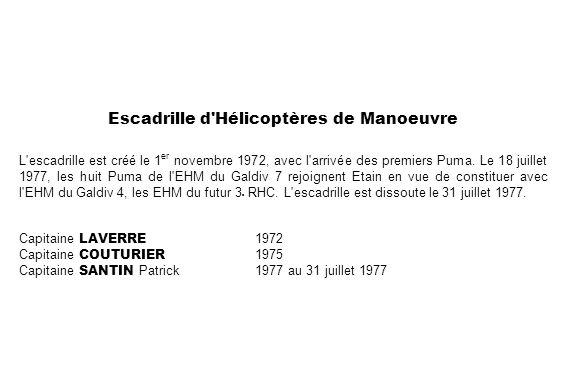 Escadrille d Hélicoptères de Manoeuvre
