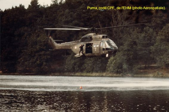 Puma, codé CPF, de l EHM (photo Aerospatiale).