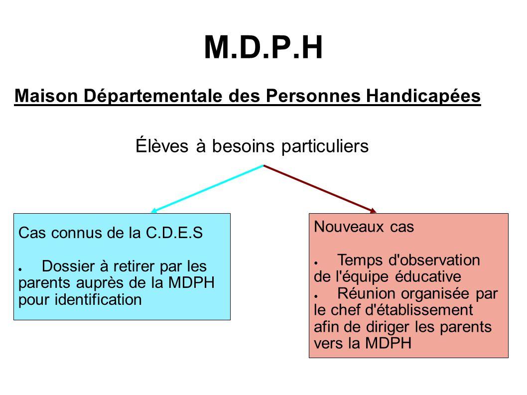 M.D.P.H Maison Départementale des Personnes Handicapées
