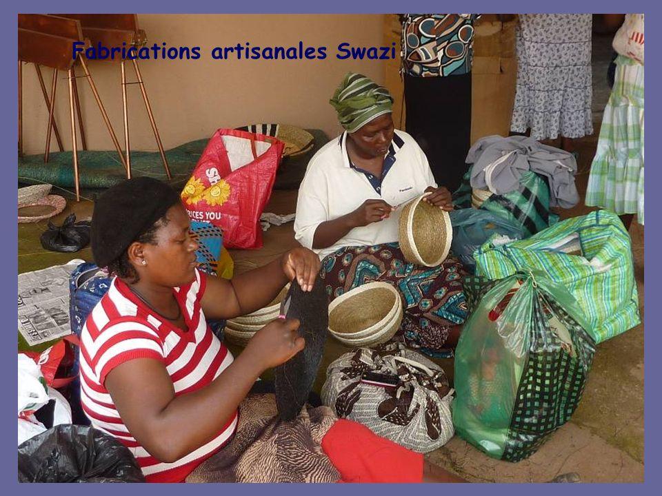Fabrications artisanales Swazi