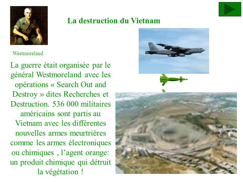 La destruction du Vietnam