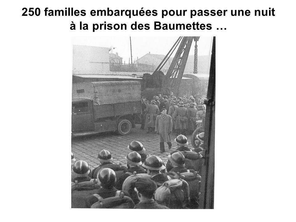 250 familles embarquées pour passer une nuit à la prison des Baumettes …