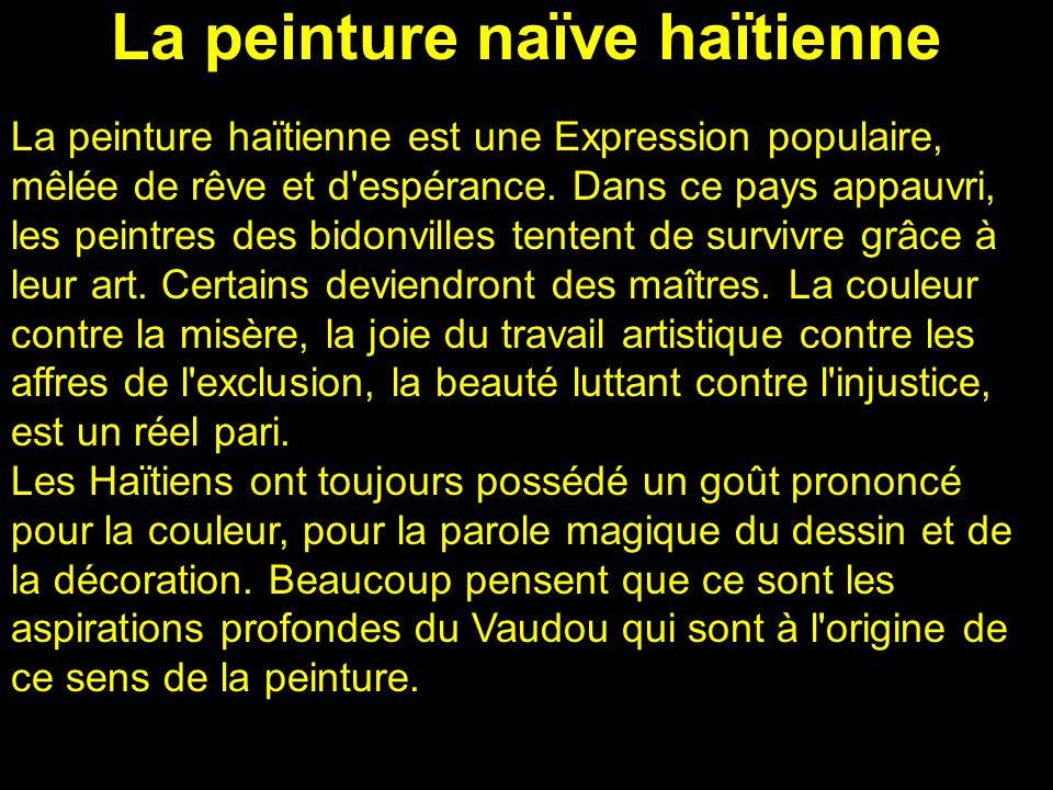 La peinture naïve haïtienne
