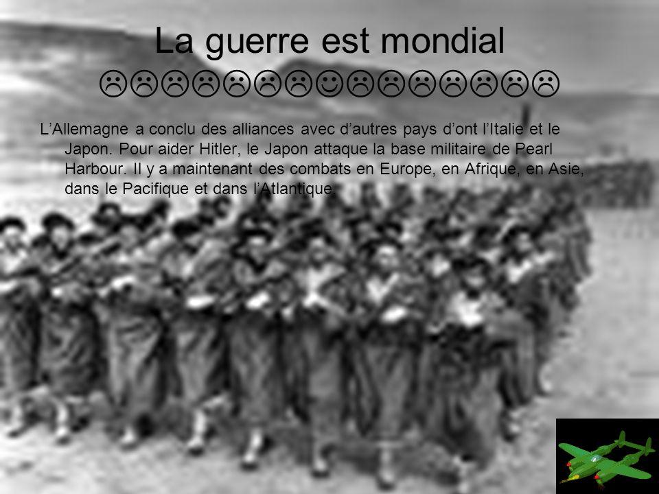 La guerre est mondial 