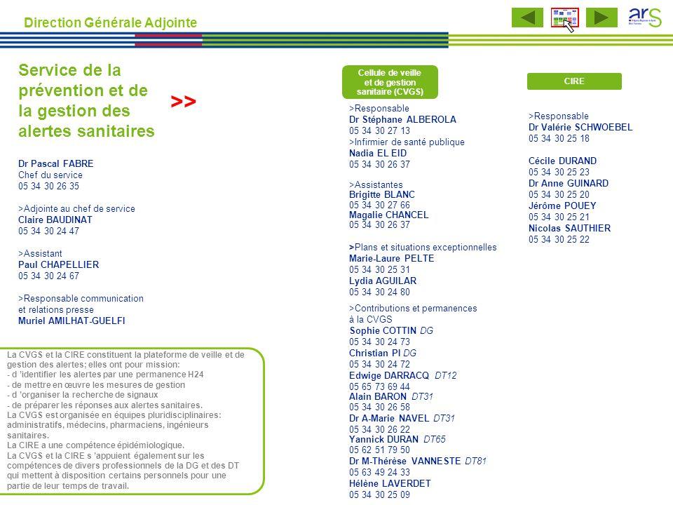 Cellule de veille et de gestion sanitaire (CVGS)