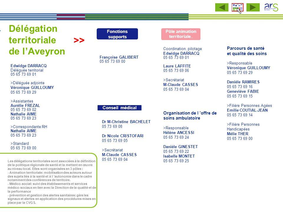 Délégation territoriale de l'Aveyron