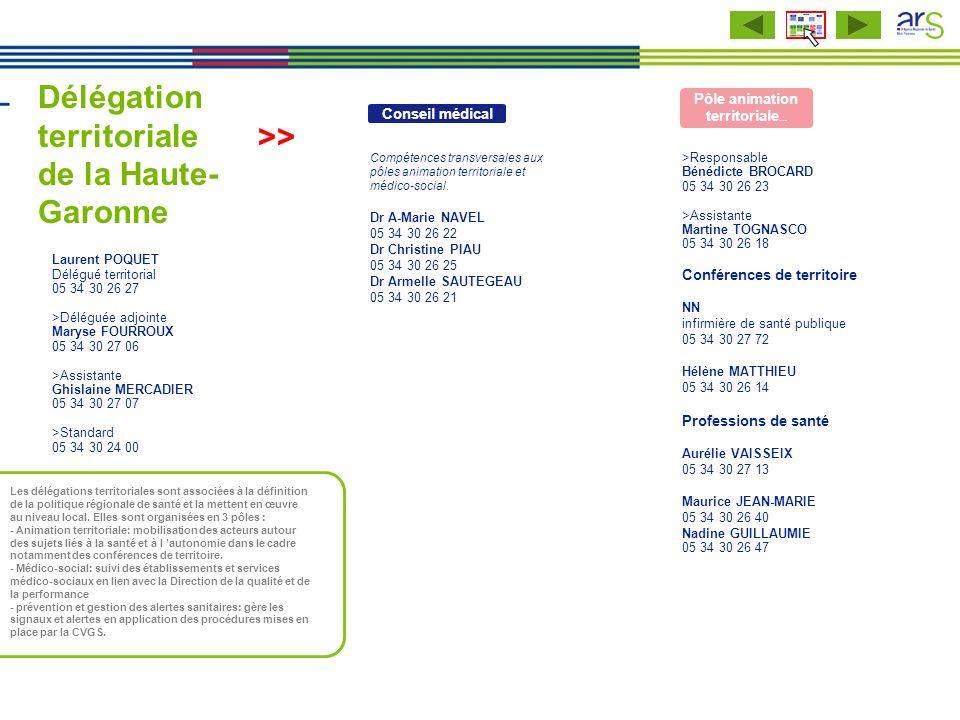Délégation territoriale de la Haute-Garonne