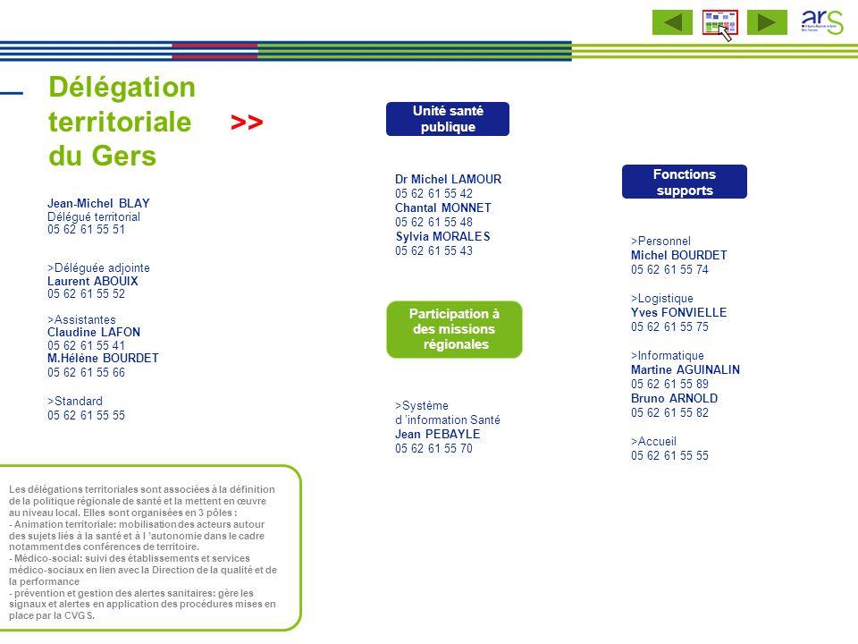 Délégation territoriale du Gers