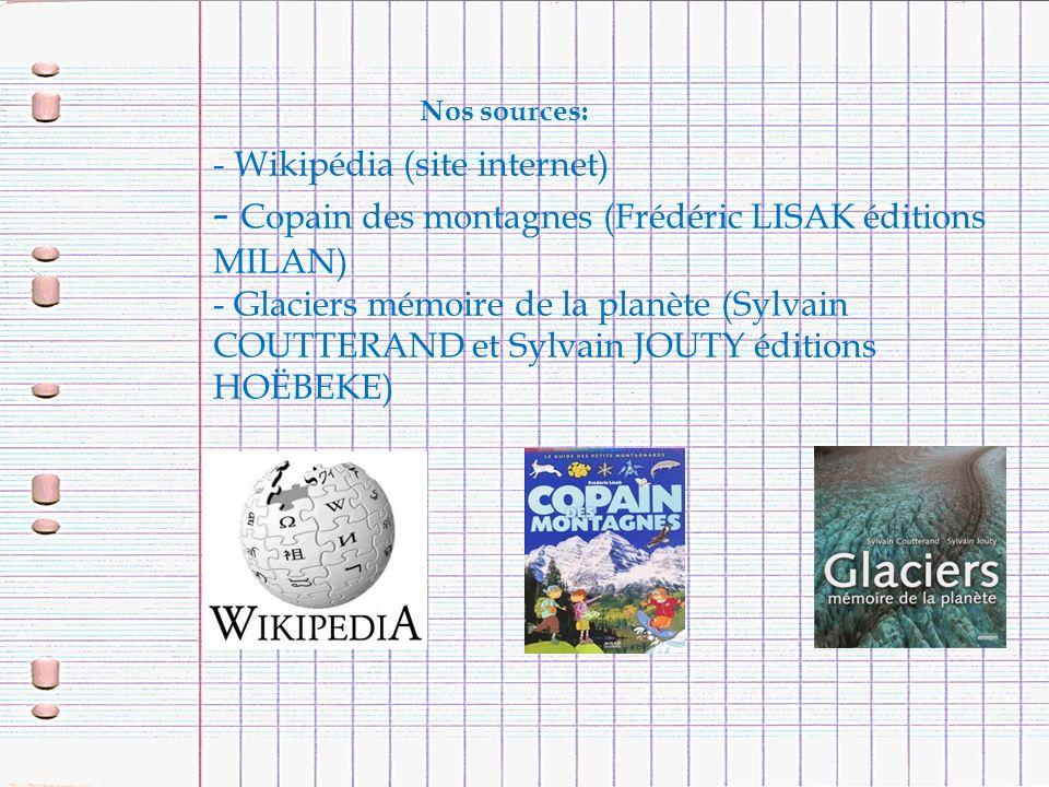 - Copain des montagnes (Frédéric LISAK éditions MILAN)