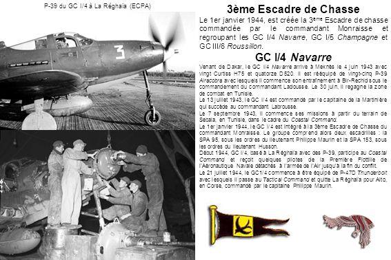 P-39 du GC I/4 à La Réghaïa (ECPA)