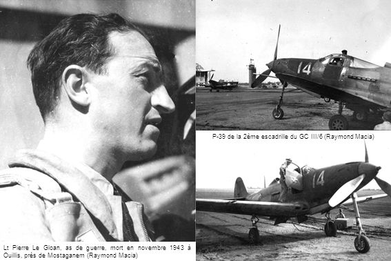 P-39 de la 2ème escadrille du GC III/6 (Raymond Macia)
