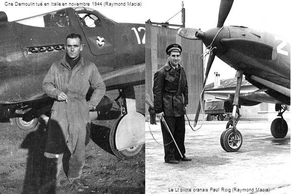 Cne Demoulin tué en Italie en novembre 1944 (Raymond Macia)
