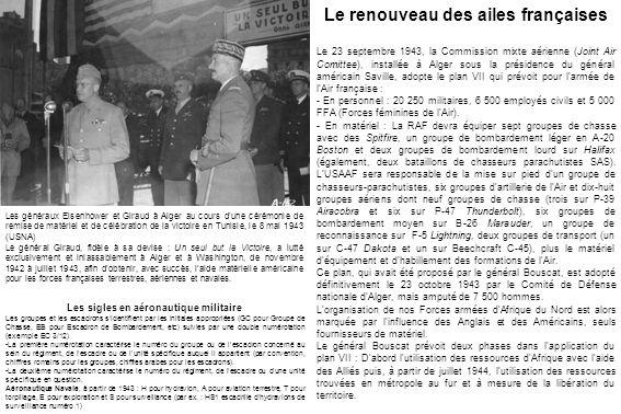 Le renouveau des ailes françaises Les sigles en aéronautique militaire