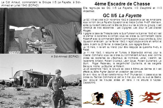 4ème Escadre de Chasse GC II/5 La Fayette