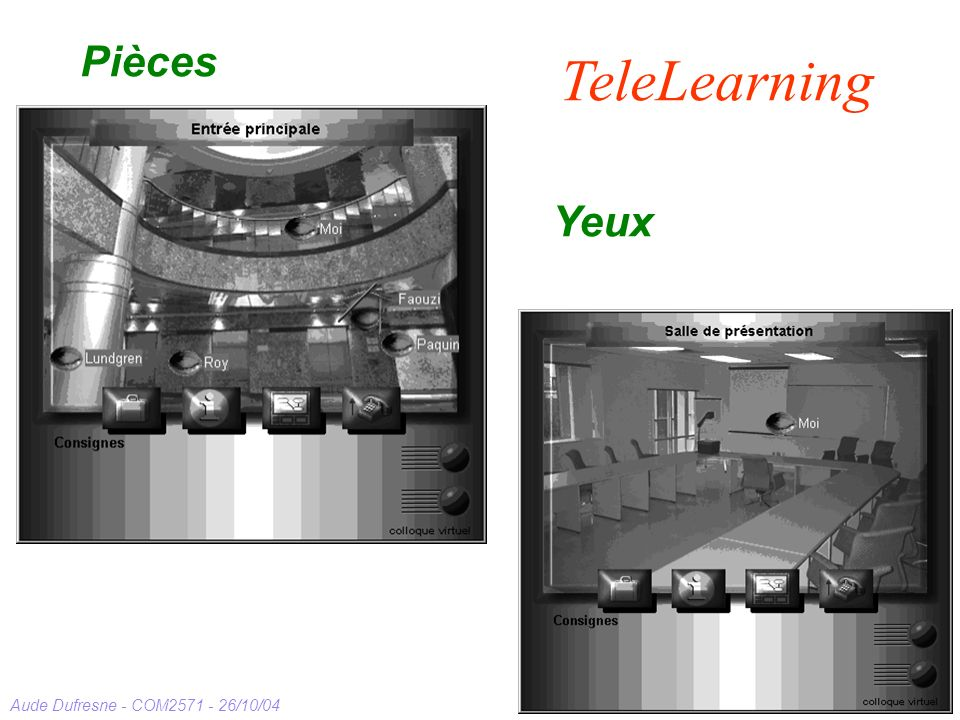 Pièces TeleLearning Yeux