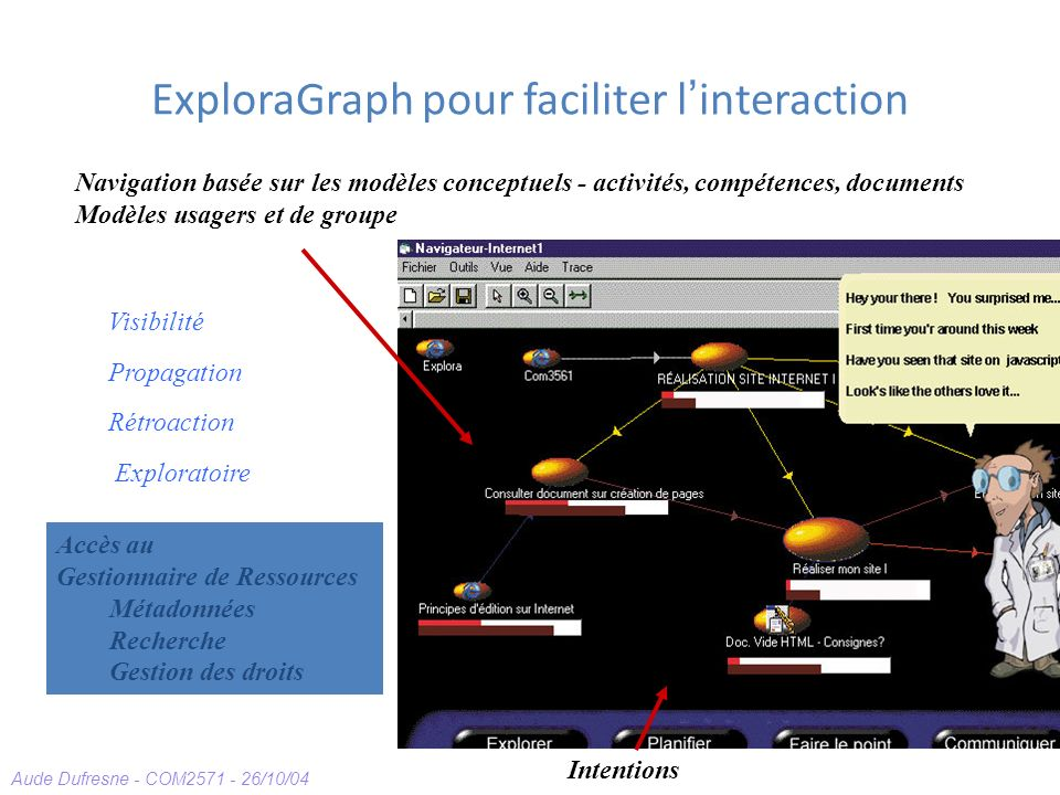 ExploraGraph pour faciliter l'interaction