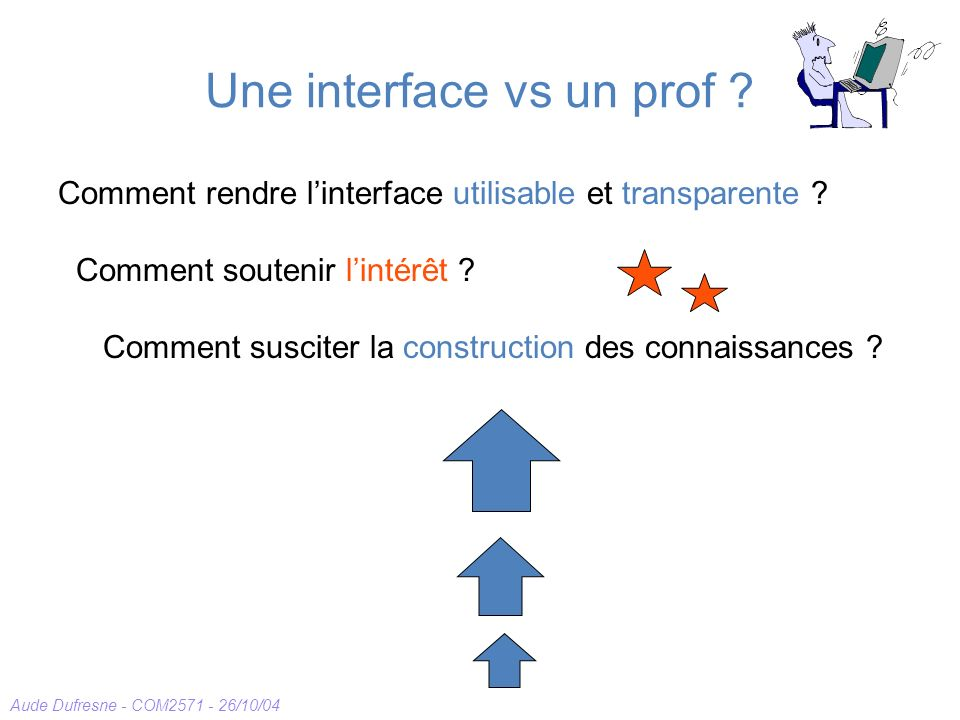 Une interface vs un prof