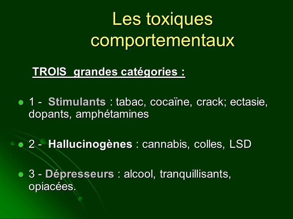Les toxiques comportementaux