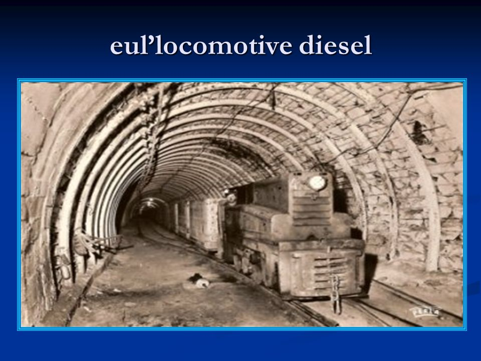 eul'locomotive diesel