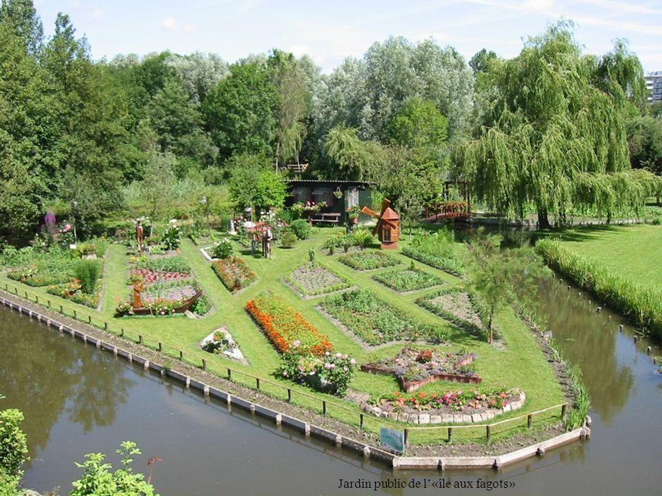 Jardin public de l'«île aux fagots»