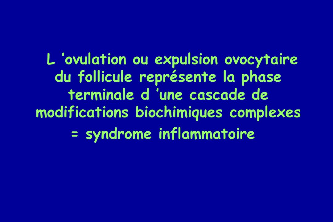 = syndrome inflammatoire