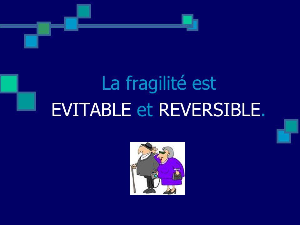 EVITABLE et REVERSIBLE.