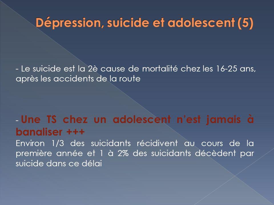 Dépression, suicide et adolescent (5)